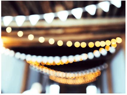 wedding lighting, outdoor wedding lighting